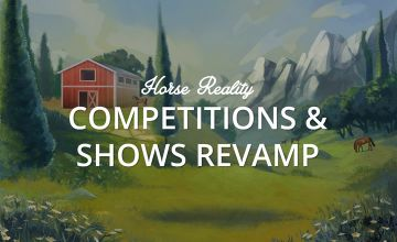 Competitions and shows revamp